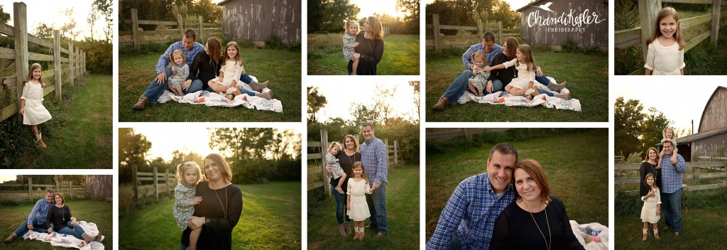 fall family photos | Chandi Kesler Photography | Photographer Champaign IL