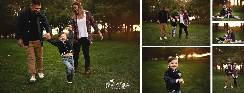 fall family photos | Chandi Kesler Photography | Photographer Pontiac IL