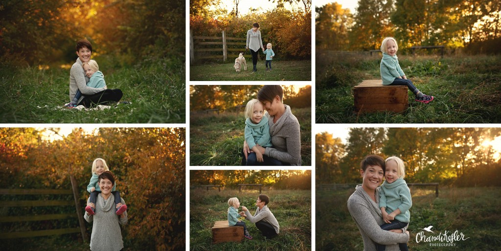 fall family photos | Chandi Kesler Photography | Photographer Peoria IL