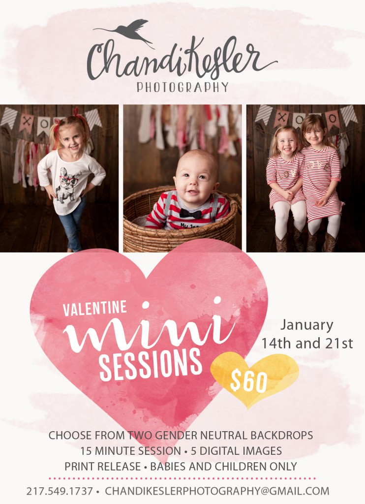 Valentine Mini Session 2017 | Chandi Kesler Photography