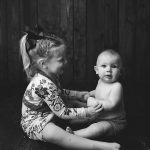 Griffin's 6 Month Milestone Session + McKenna's 3 Year Old Session | Mackinaw IL Photographer