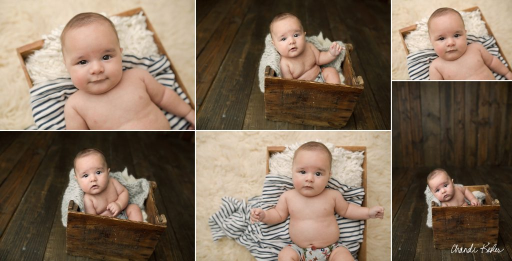 3 Month Baby Session | Chandi Kesler Photography | Mahomet IL Photographer