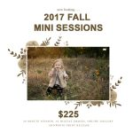 Now Booking Fall Mini Sessions | Central IL Fall Family Photographer