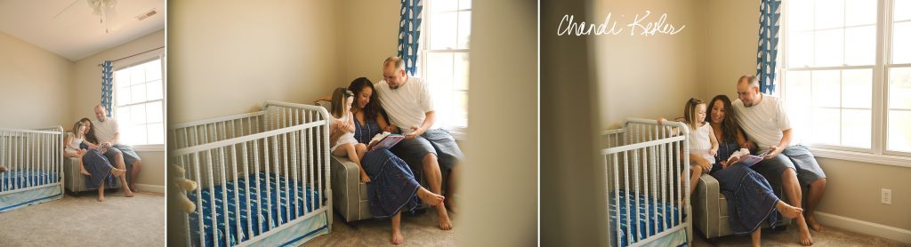 Lifestyle Newborn Pictures | Chandi Kesler Photography | Roanoke IL Newborn Photographer