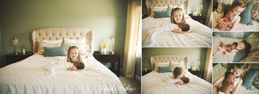 Lifestyle Newborn Pictures | Chandi Kesler Photography | Lexington IL Newborn Photographer