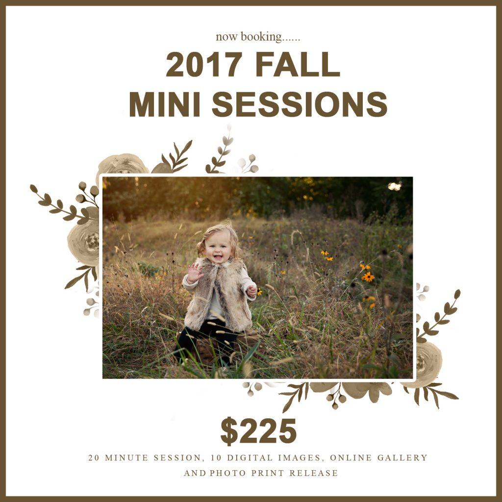 Chandi Kesler photography | fall mini sessions | Bloomington IL photographer
