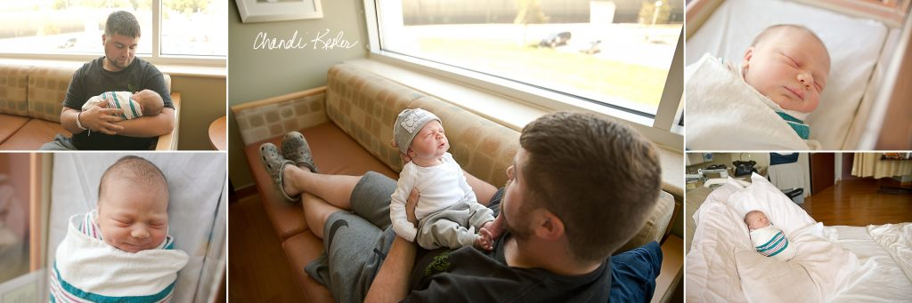 Fresh 48 Hospital Session | Birth Photographer Bloomington IL | Chandi Kesler Photography