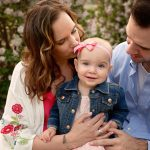 12 Month Family Session with Charlotte | Peoria IL Family Morton IL Baby Photographer