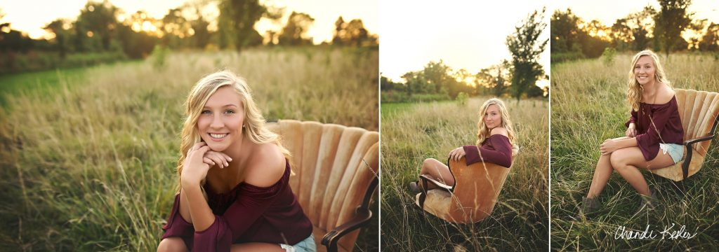 High School Senior photographer Bloomington IL | Chandi Kesler Photography