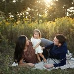 Broadstone Family Session | Champaign IL Baby Bloomington IL Family Photographer