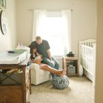 Lifestyle Newborn Session with Finley   Decatur IL Newborn Fisher IL Baby Photographer
