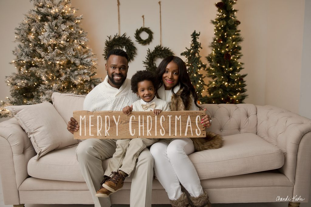 Indoor Family Pictures Bloomington IL | Holiday Mini Sessions | Lexington IL Photographer