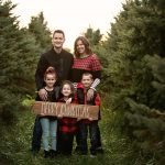 Tree Farm Mini Sessions | Champaign IL Family Rantoul IL Child Photographer