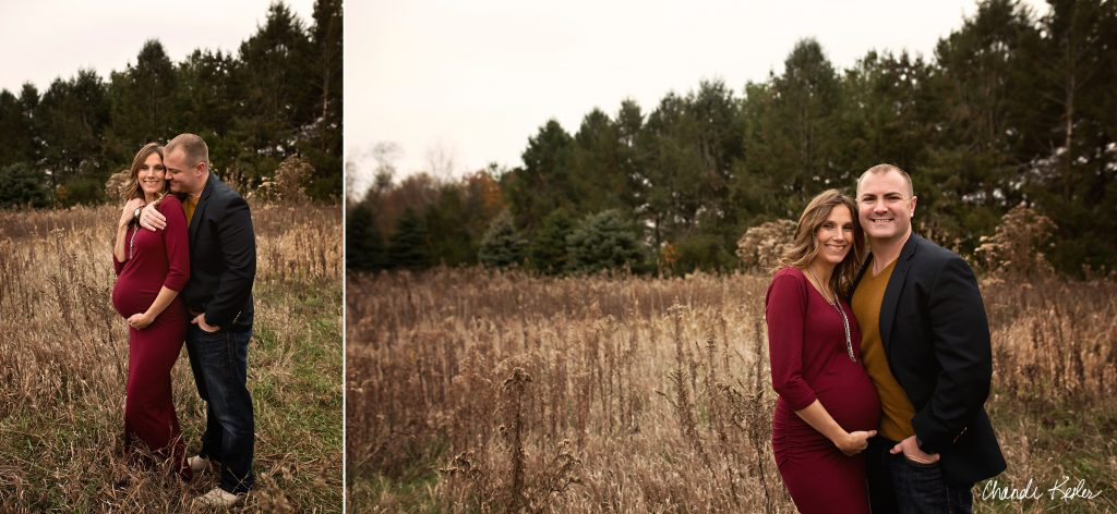 Best maternity photographer mahomet il | Chandi Kesler Photography