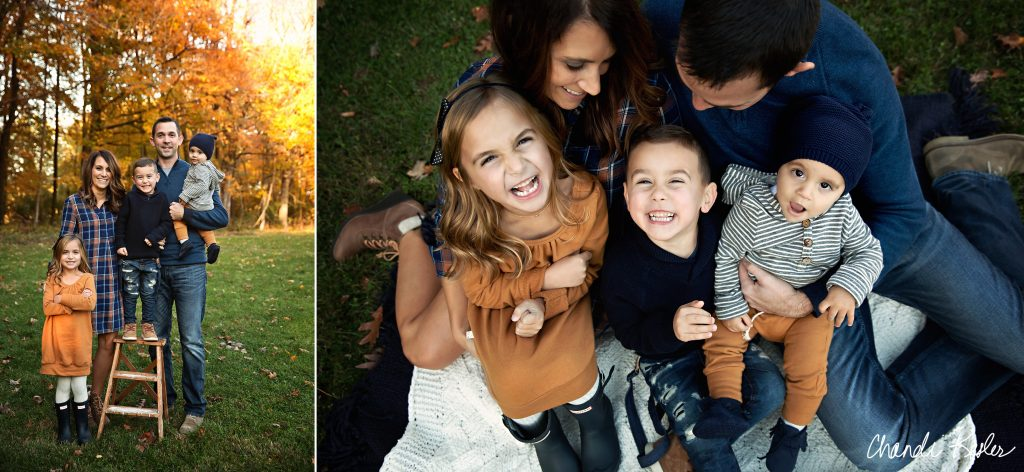 Peoria IL Family Photographer | Family of 5 photo ideas | Chandi Kesler Photography