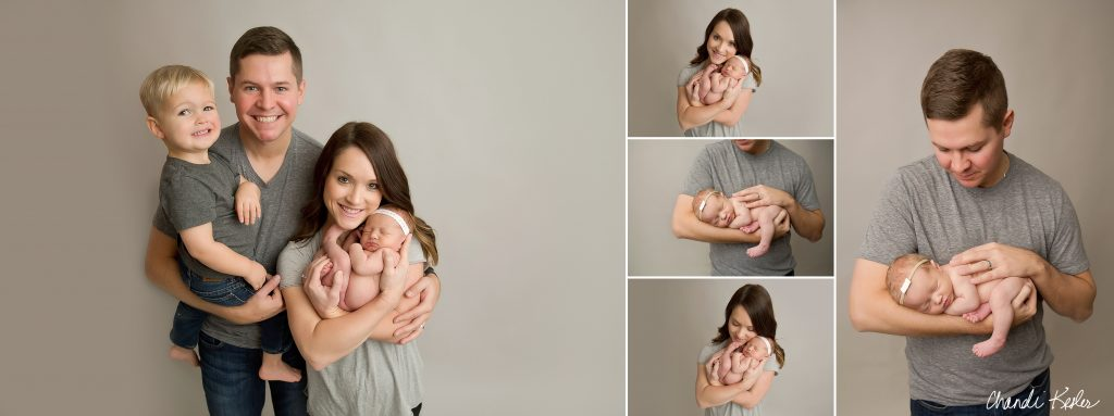 Newborn Photographer Mahomet IL | Chandi Kesler Photography | Newborn Girl Pictures