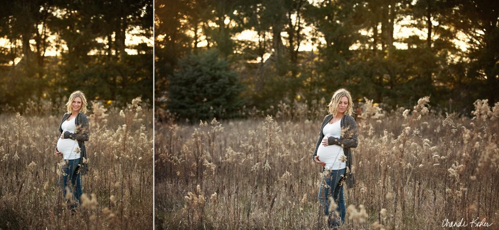 Maternity Photographer Champaign IL | Chandi Kesler Photography