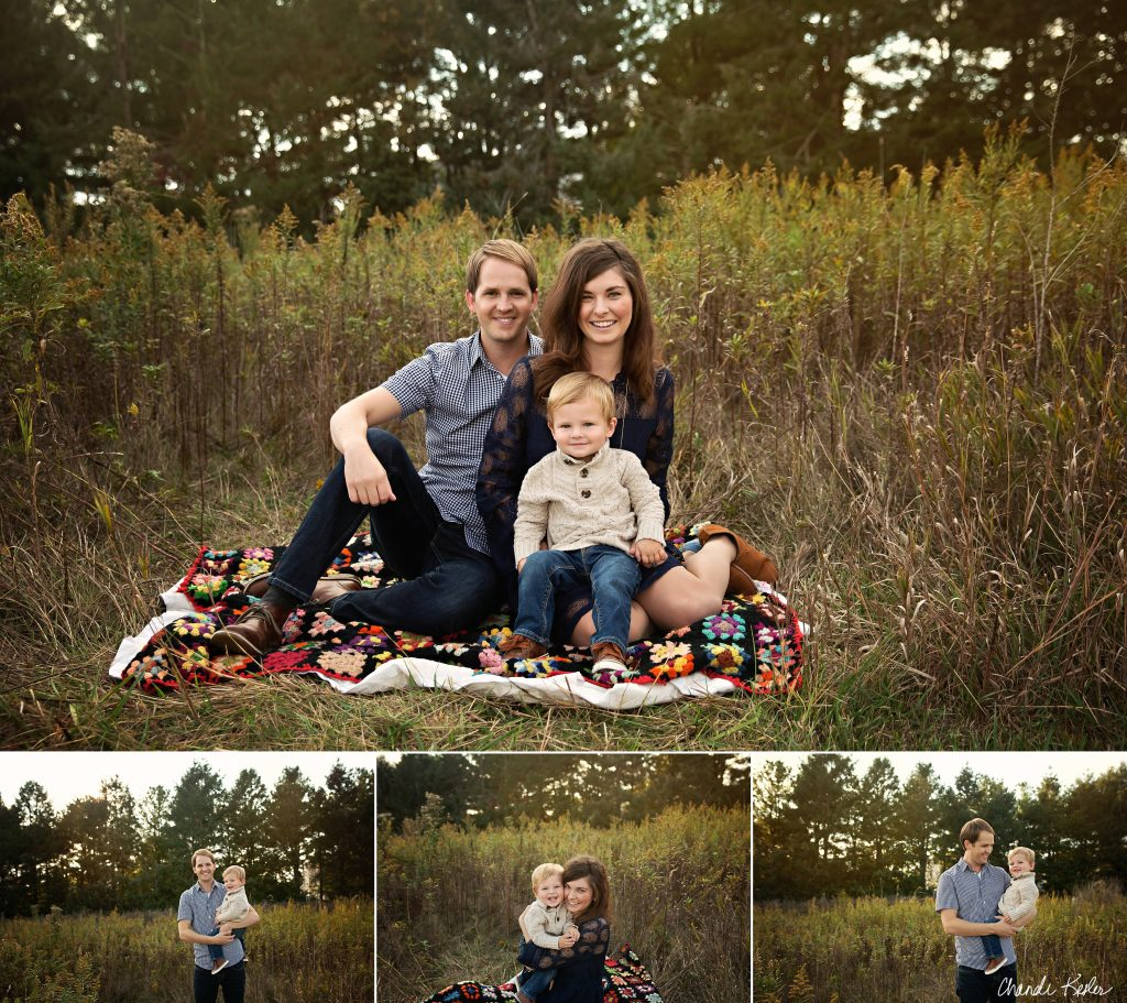 Hudson IL Photographer | Chandi Kesler Photography | Family of 3 Photo Session