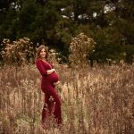 Family Maternity Session with the Bordners | Joliet IL Newborn Dwight IL Maternity Photographer
