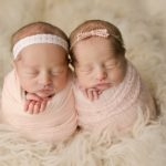 Twin Newborn Session with Savannah & Sydney | Farmer City IL Baby Mahomet IL Newborn Photographer