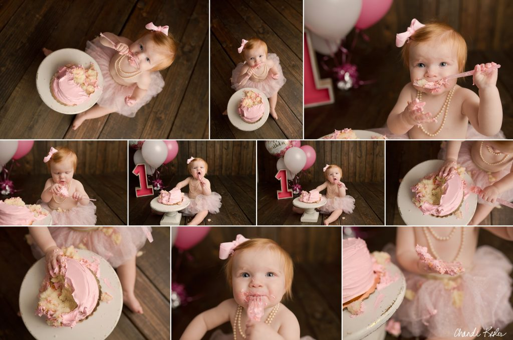Fairbury IL Photographer | Chandi Kesler Photography | Girl Cake Smash