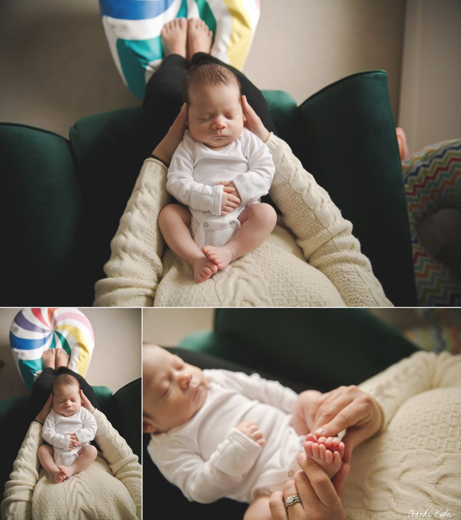 lifestyle newborn photographer Normal IL | chandi kesler photography
