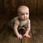 6 Month Session with Finn & Big Brother Cooper | Bloomington IL Baby Hudson IL Newborn Photographer