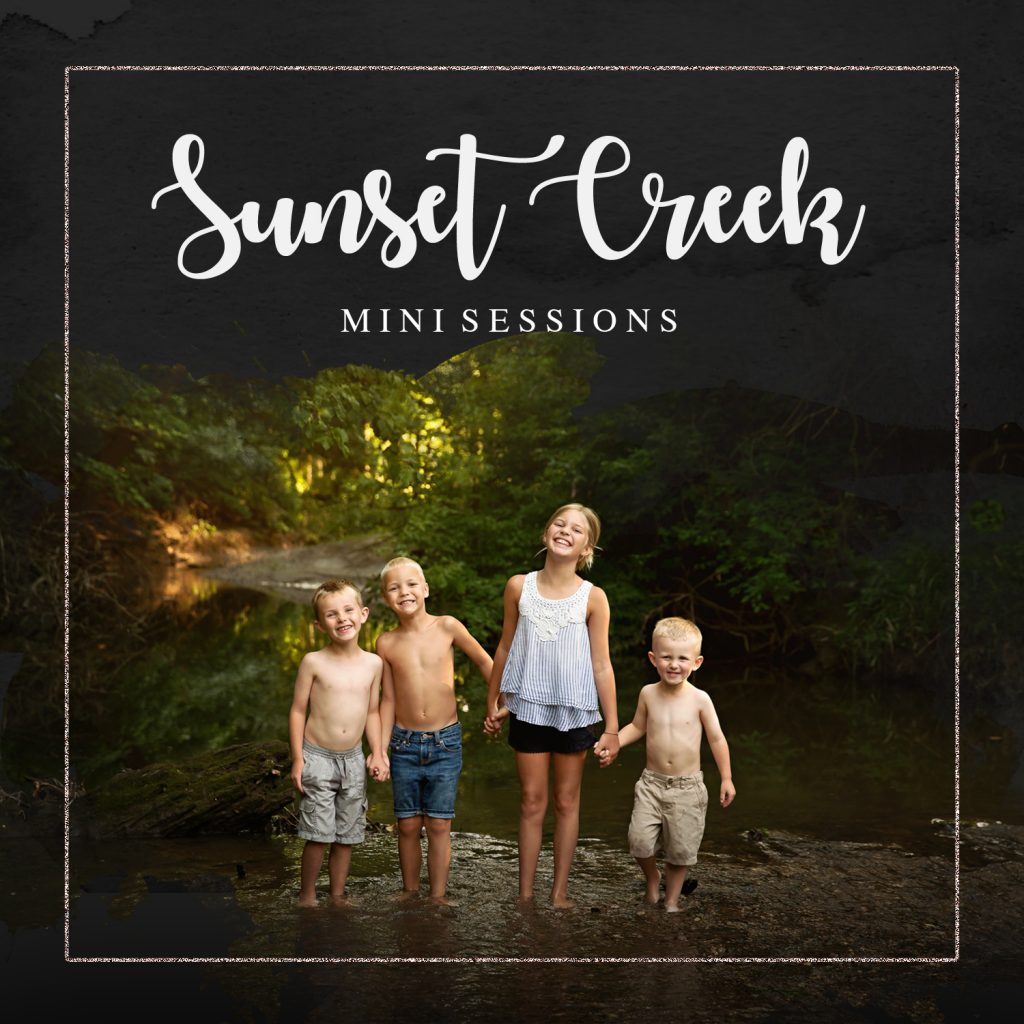 Creek Mini Sessions | Chandi Kesler Photography