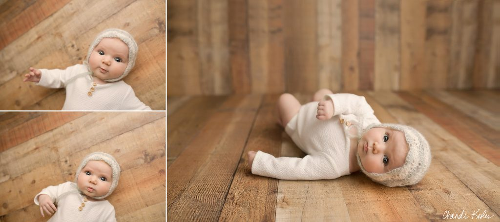Mackinaw IL Photographer | Chandi Kesler Photography | 3 Month Picture Ideas