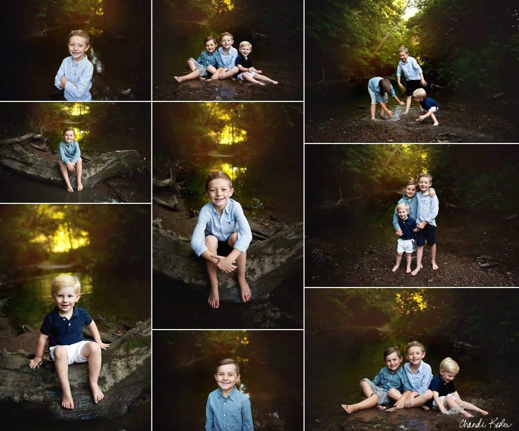 Mahomet IL Family Photographer | Chandi Kesler Photography | Creek Mini Sessions