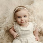 6 Month Milestone Session with Nora | Clinton IL Baby Springfield IL Newborn Photographer