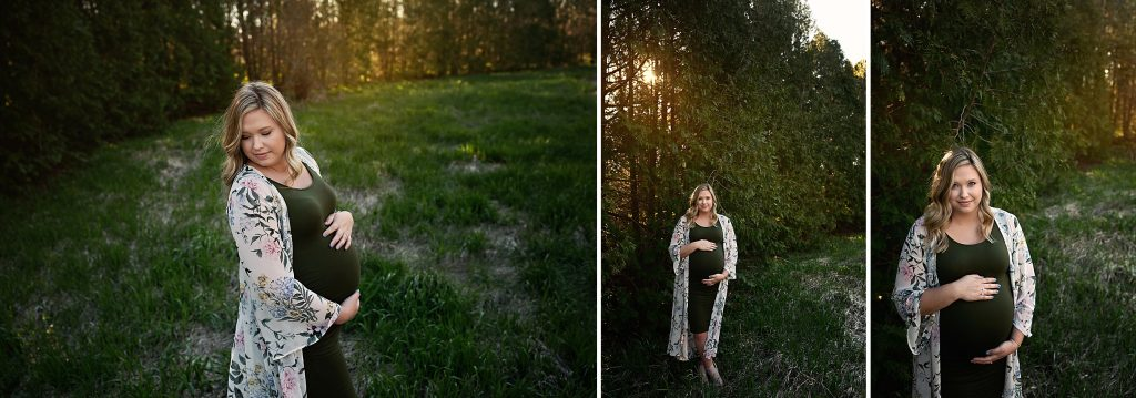 Maternity Photographer Streator IL | Chandi Kesler Photography