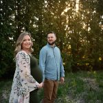 Maternity Session with Laura + Kyle | Peoria IL Couples Bloomington IL Maternity Photographer