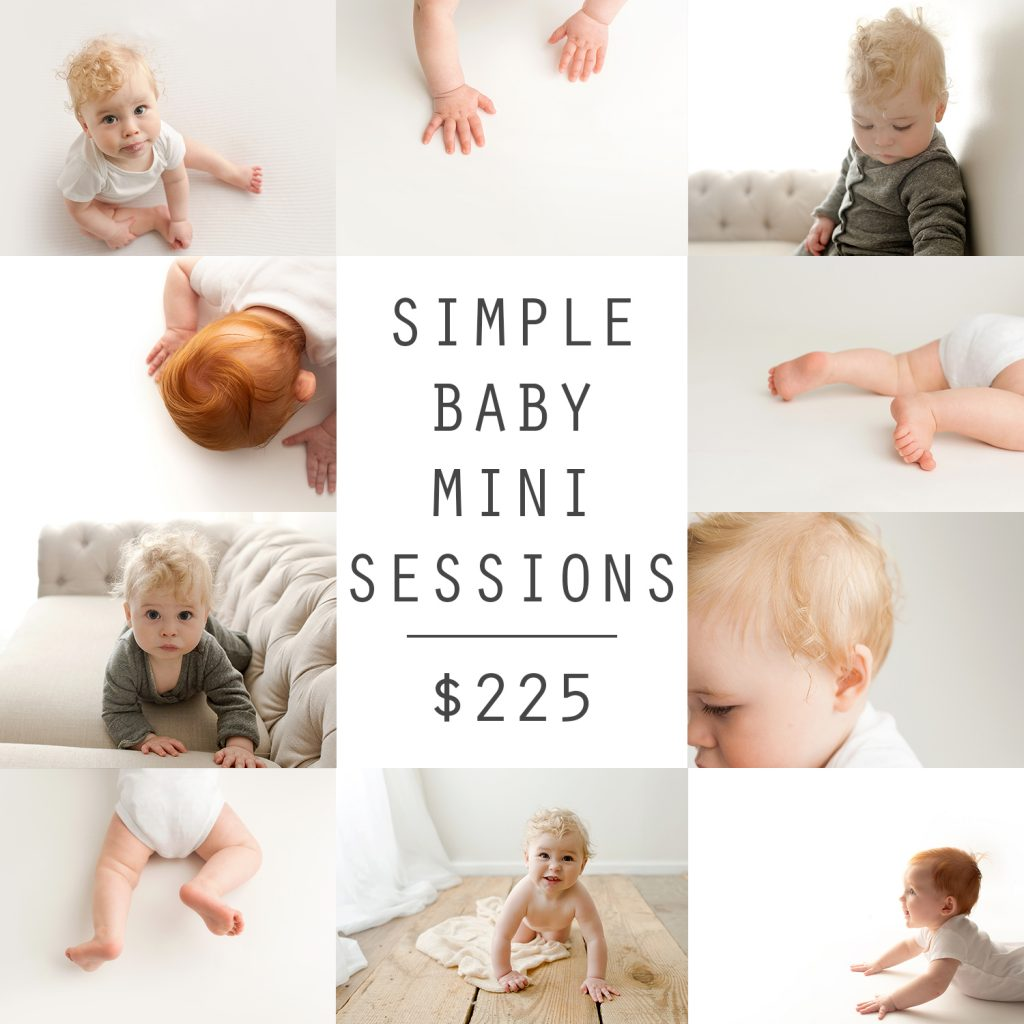 Simple Baby Mini Sessions | Chandi Kesler Photography