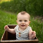 6 Month Milestone Session with Hayes | Peoria IL Newborn Metamora IL Baby Photographer