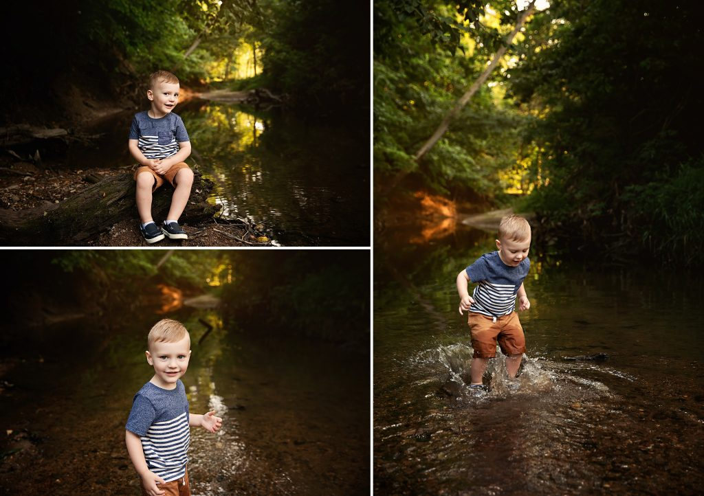 Creek Photographer Bloomington IL | Chandi Kesler Photography