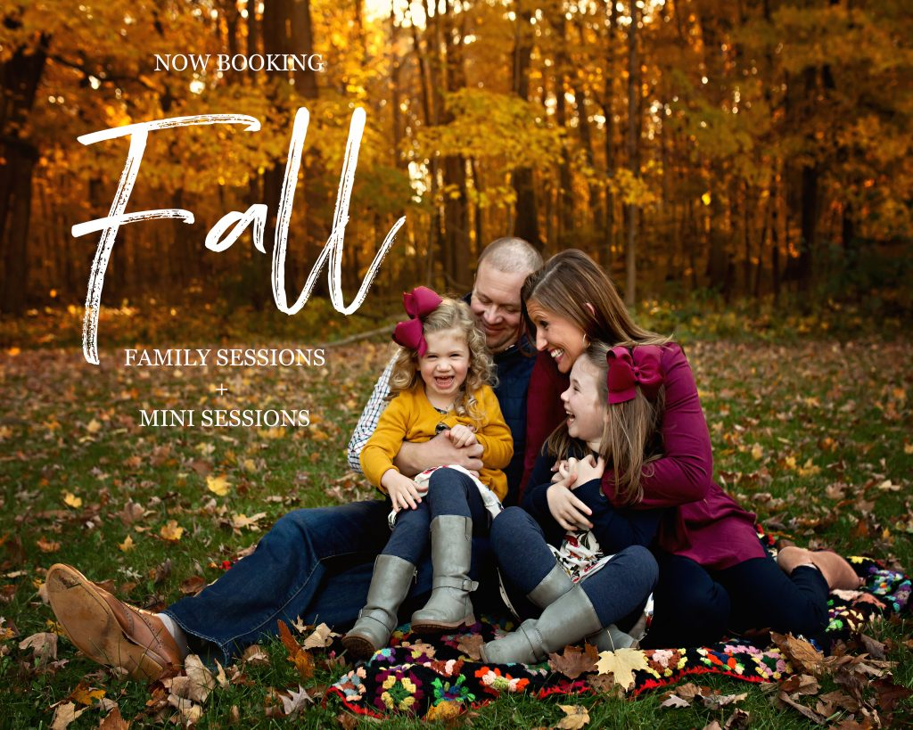 Bloomington IL Fall Family Sessions | Chandi Kesler Photography